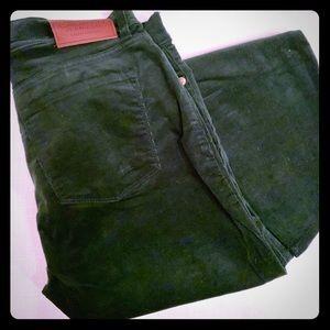 Lauren Jeans Co. Hunter Green Corduroys in Size 2P